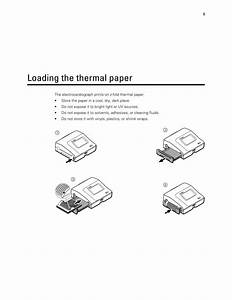 Loading The Thermal Paper