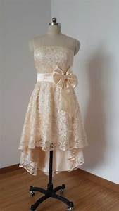 short champagne dresses chinapricesnet With champagne lace short wedding dress