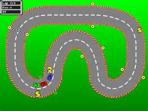 Race Car Track Template Printable