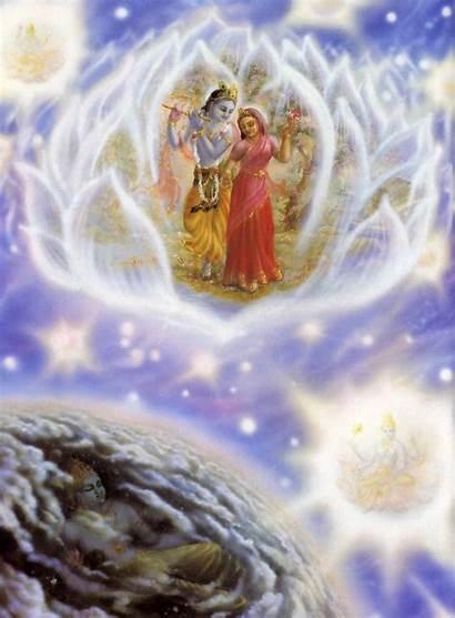 Spiritual Sky Material Entering Goloka Soul Lord