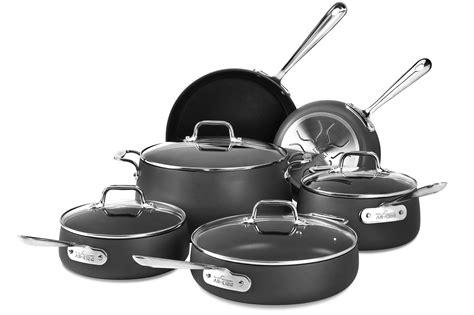 clad cookware nonstick ha1 piece sets cutlery cutleryandmore