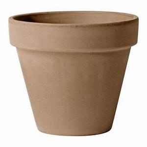Castorama Pot De Fleur : pot de fleurs horticole en terre cuite moka castorama ~ Melissatoandfro.com Idées de Décoration