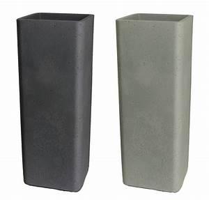 Balkonböden Aus Kunststoff : pflanzs ule quadratisch pflanzk bel aus kunststoff in ~ Michelbontemps.com Haus und Dekorationen