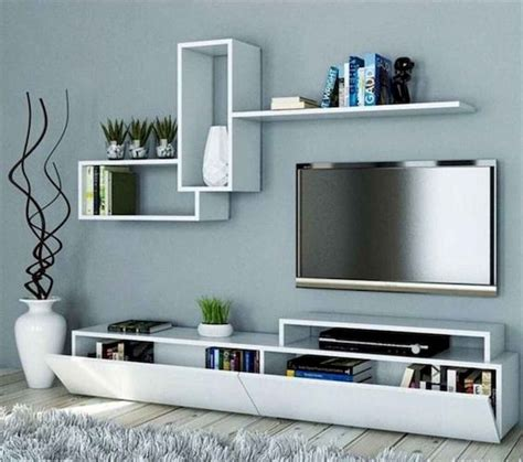 Tv cabinet for living room 2015, wall mounted tv units. 80 Amazing Living Room TV Wall Decor Ideas And Remodel (14   Living room tv wall, Livingroom ...