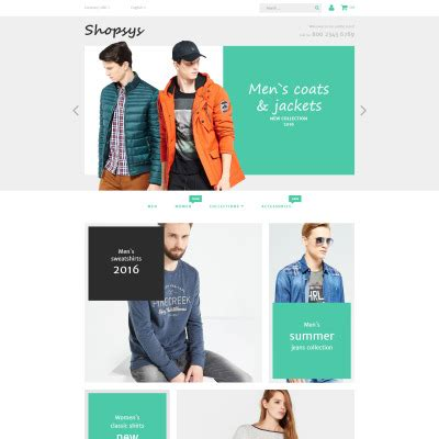 Design Template Magento Bootstrap by Magento Clothing Templates