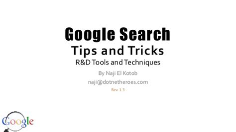 tips and tricks using find search tips and tricks