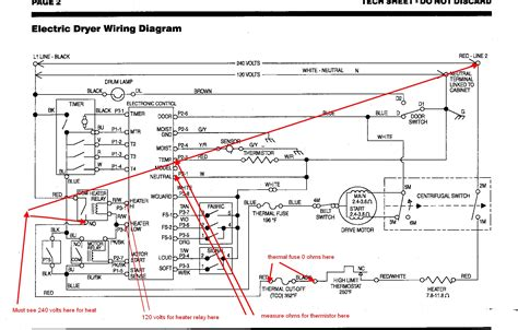 Whirlpool Thermistor Wiring Diagram by 8 Year Kenmore Drier Will Not Heat