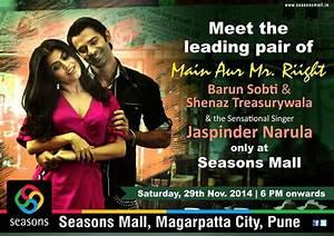 Meet and Greet the stars of Main Aur Mr. Riight, Barun ...