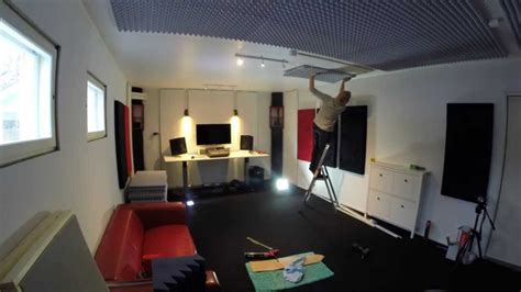 building a studio how to build a home recording studio in 10 days youtube