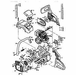 Mcculloch mac 110 chainsaw parts manuals