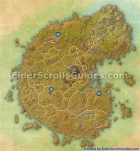 Betnikh Skyshards Map Elder Scrolls Online Guides