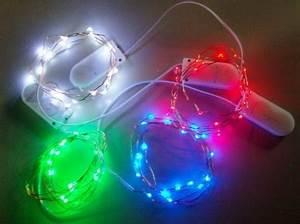 Kleine Led Lampjes : batterij led verlichting met 20 led lampjes kleur led lampjes warm wit led string lampjes ~ Markanthonyermac.com Haus und Dekorationen