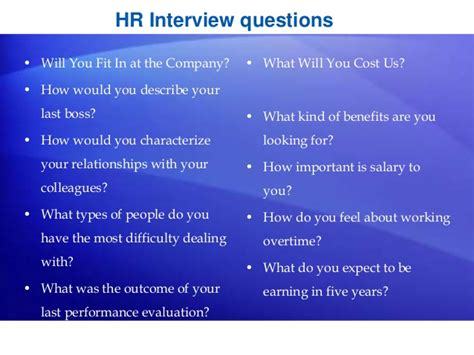 Questions For Hr Generalist by Hr Generalist Practical With 100 Placement