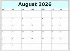 January 2026 Calendar