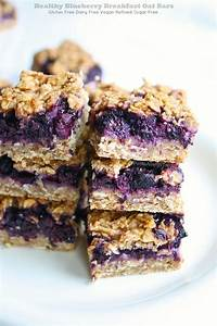 Gluten Free Blueberry Breakfast Oat Bars - Petite Allergy ...