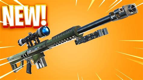 Fortnite Data-mine Reveals Two New Snipers And A Shotgun