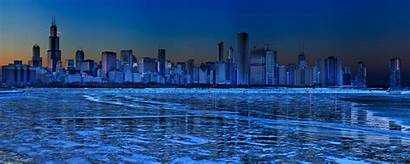 Monitor Dual Chicago Wallpapers 2560 1024 Resolutions