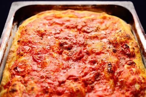 pizza  teglia impasto fatto  casa dissapore