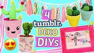 Deko Ideen Selbermachen : 4 einfache tumblr deko diy ideen zimmer deko diys selber ~ A.2002-acura-tl-radio.info Haus und Dekorationen