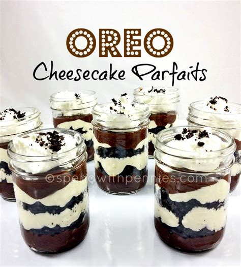 no bake oreo cheesecake parfaits it pin it just click the photo follow spend with