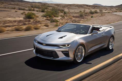 Chevrolet Announces Camaro Convertible For 2016