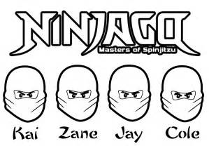 HD wallpapers free coloring pages of ninjago