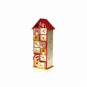 Calendrier De L Avent Maison En Bois : calendrier avent bois maison pratic boutique pour vos loisirs creatifs et votre deco ~ Melissatoandfro.com Idées de Décoration