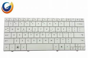 China Laptop Keyboard Hp Mini110 6037b0040179 White Us