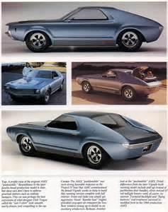 American Motors AMX Concept Cars