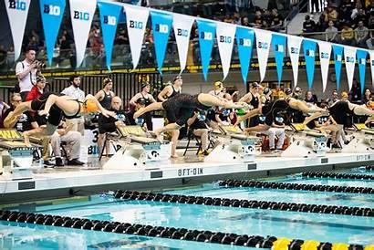 Ten Swimming Championships Iowa Finishes Ninth Championship