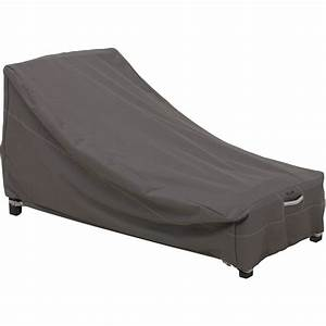 classic accessories ravenna large patio day chaise With garden furniture storage covers