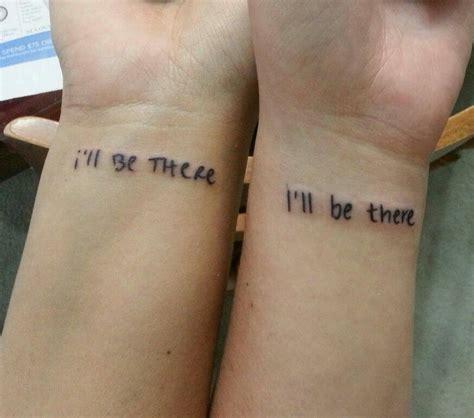 friend tattoos tattoo inspiration small  friend tattoos friendship tattoos bff