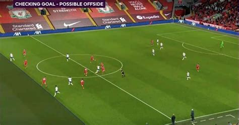 Sadio mane is ruled offside as liverpool thought they had a winner in the derby. Liverpool vs Tottenham: VAR under fire for offside decision in Heung-min Son's Anfield goal ...