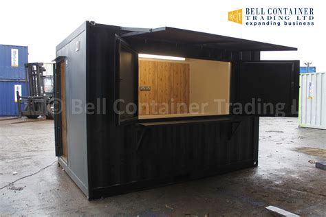container cuisine shipping container café food servery container