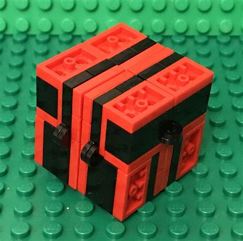 lego  fidget infinity magic folding cube moc handheld
