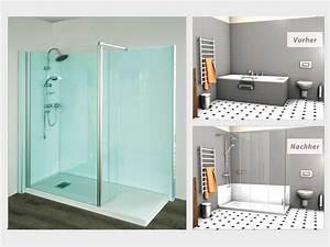 Wanne Zur Dusche : badewannenumbau alte wanne zur neuen dusche nullbarriere ~ Watch28wear.com Haus und Dekorationen