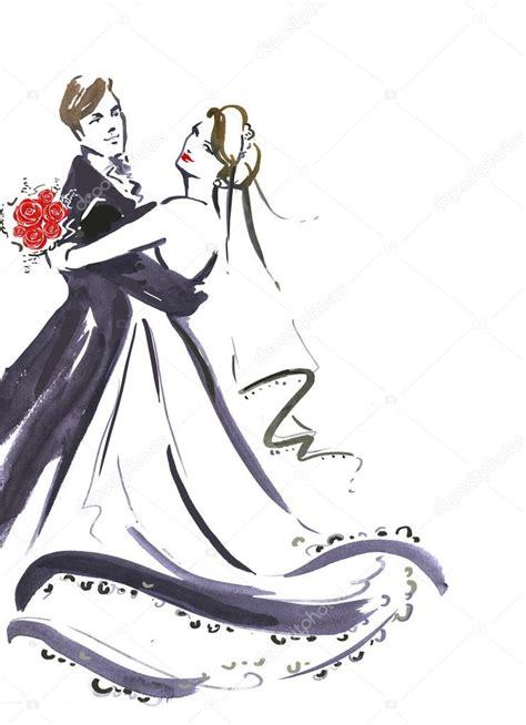 wedding dancing couple silhouette  bride  groom