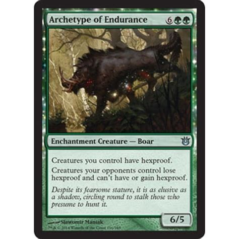 archetype of endurance magic the gathering from magic