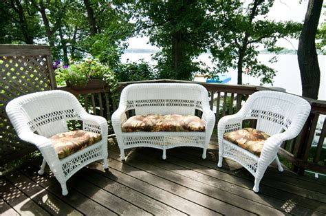 outdoor wicker furniture for small spaces the patio
