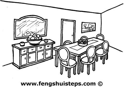 table salle a manger casa salle à manger 5 bâtiments et architecture coloriages