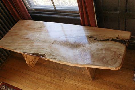 custom silver maple coffee tables  garybd woodworking