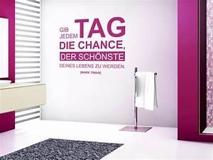 Der Schönste Tag : modernes wandtattoo zitat der sch nste tag deines lebens bei ~ Heinz-duthel.com Haus und Dekorationen