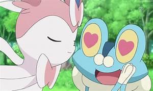 my gif pokemon pokemon gif Froakie Sylveon houndumb •