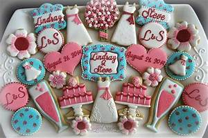 bridal shower cookies decorated cookies pinterest With wedding shower sugar cookies