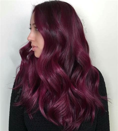 Red Wine ️ Do Hairbesties Love Deep Rich Reds Guy Tang
