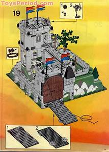 Lego 6081 King U0026 39 S Mountain Fortress Set Parts Inventory And