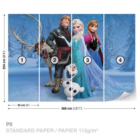 disney frozen elsa anna olaf sven fotobehang behang bestel nu op europostersnl