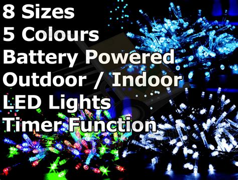 battery operated multi function outdoor led timer