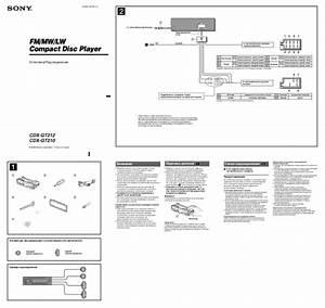 Sony Xplod Cdx Gt550ui Wiring Diagram