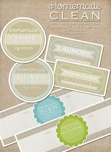 Diy homemade clean free label printables and recipes for Diy product labels